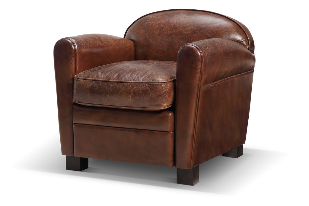 fauteuil club h ritage rose moore. Black Bedroom Furniture Sets. Home Design Ideas