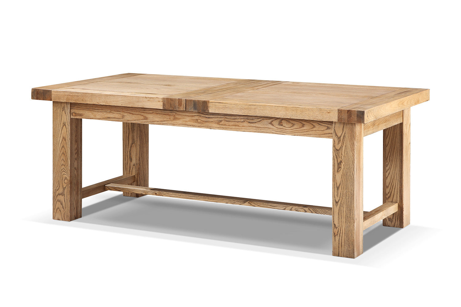 Table de salle manger etabli rallonges rose moore - Dimensions table a manger ...