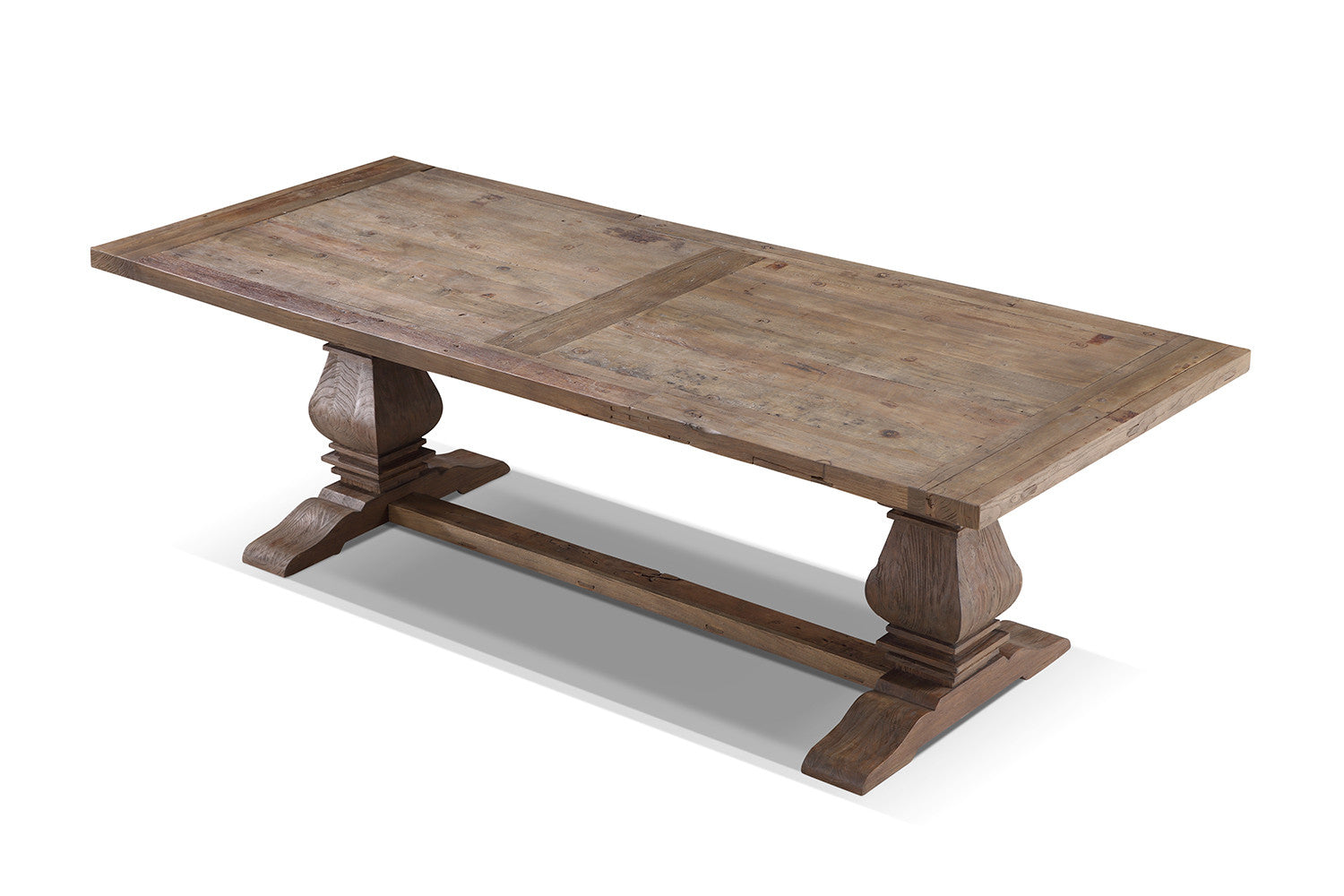 Table de salle manger monast re en bois rose moore for Dimension table a manger