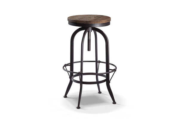 tabouret de bar rond vintage ta03 rose moore. Black Bedroom Furniture Sets. Home Design Ideas