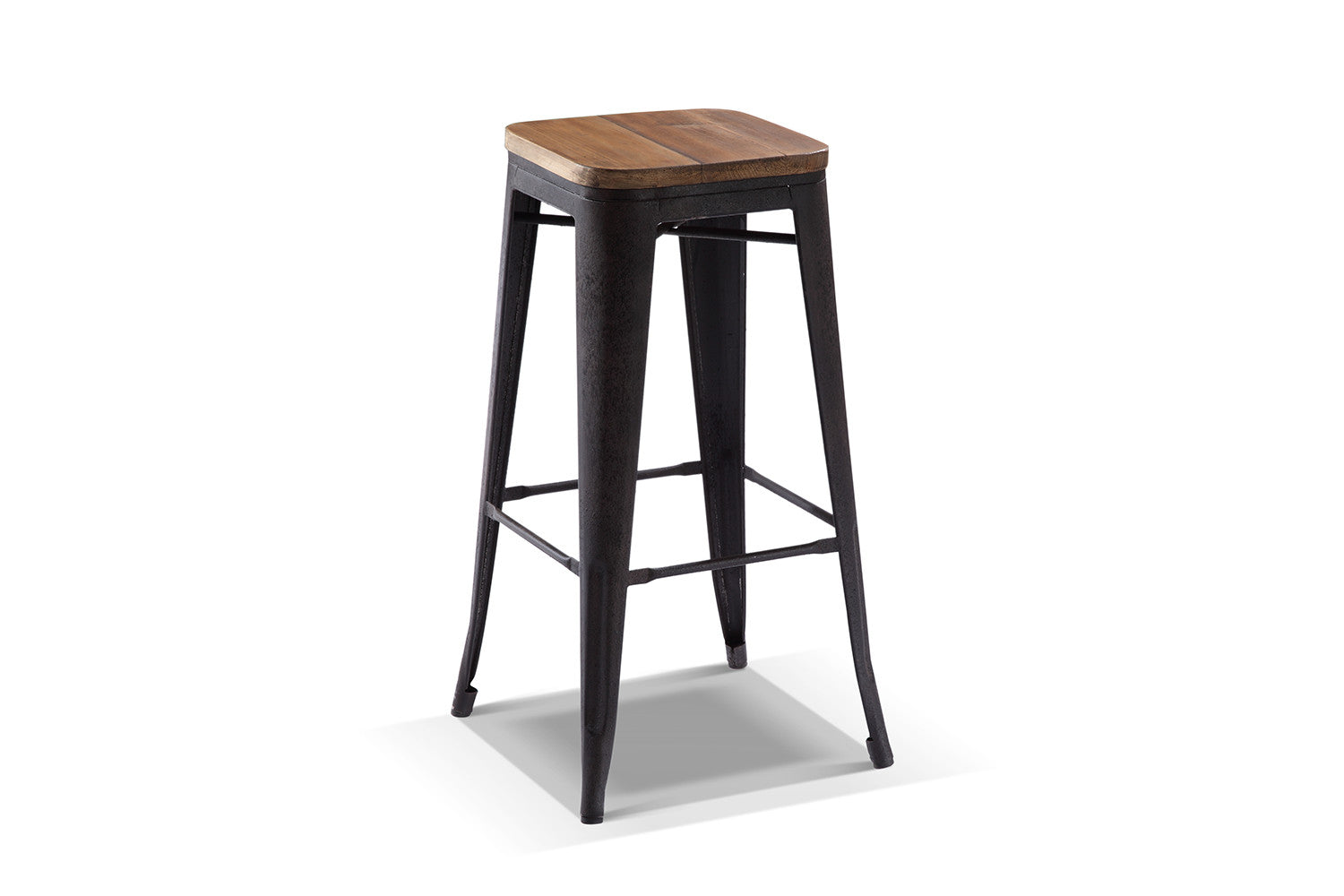 Tabouret de bar industriel for Tabouret cuisine