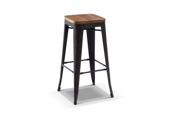 Tabouret de bar industriel Rose & Moore