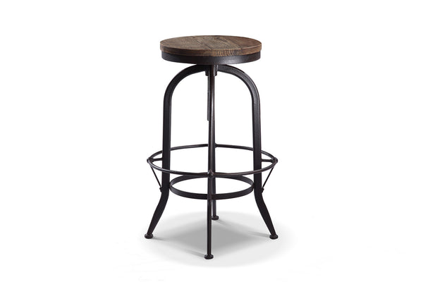 Tabouret de bar rond industriel Rose & Moore