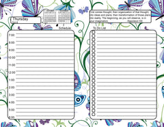 Two Page Daily Planners