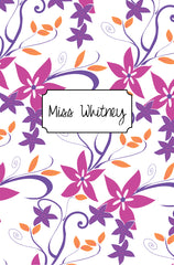 Boysenberry Cover Custom Planner