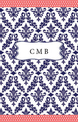 Damask Cover Custom Planner