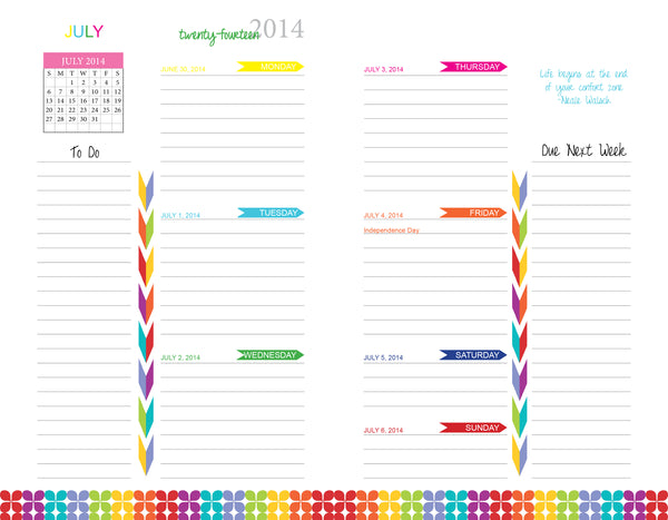 Create a custom designed planner plan my planner for Custom photo planner