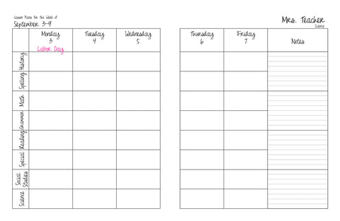 Plan My Planner  Make Your Own Custom Day Planner