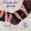 Extension!!! & Giveaway Item #3: Completely Vegan Bacon Socks
