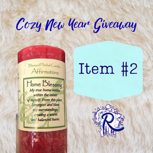 Giveaway Item #2: Home Blessing Candle From Michelle Blackett