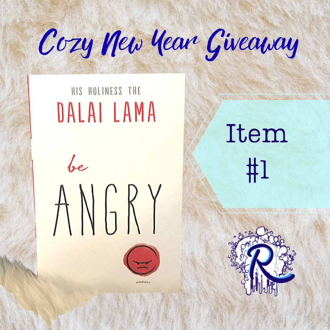 "Giveaway Item #1: Book ""Be Angry"" by His Holiness the Dalai Lama"