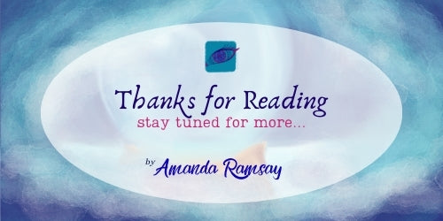 """Thanks for reading, stay tuned for more by Amanda Ramsay"" on theme image"