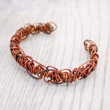 Load image into Gallery viewer, Copper Wire Wrap Bracelet