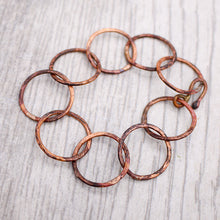 Load image into Gallery viewer, Copper Link Bracelet