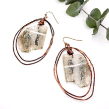 Load image into Gallery viewer, Moss Agate Earrings