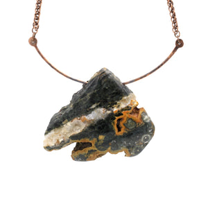 Ocean Jasper and Copper Necklace