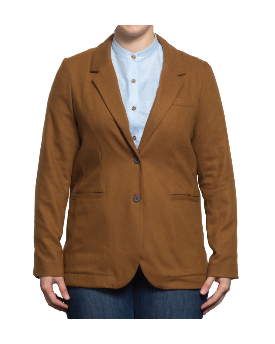 Parks Faux-Wool Suit Jacket