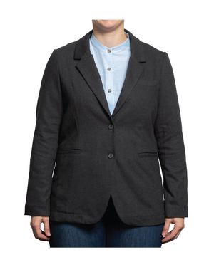 Patterson Faux-Wool Suit Jacket