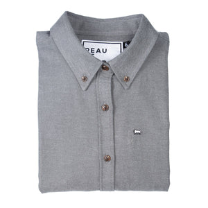 Flannel Oxford - Grey