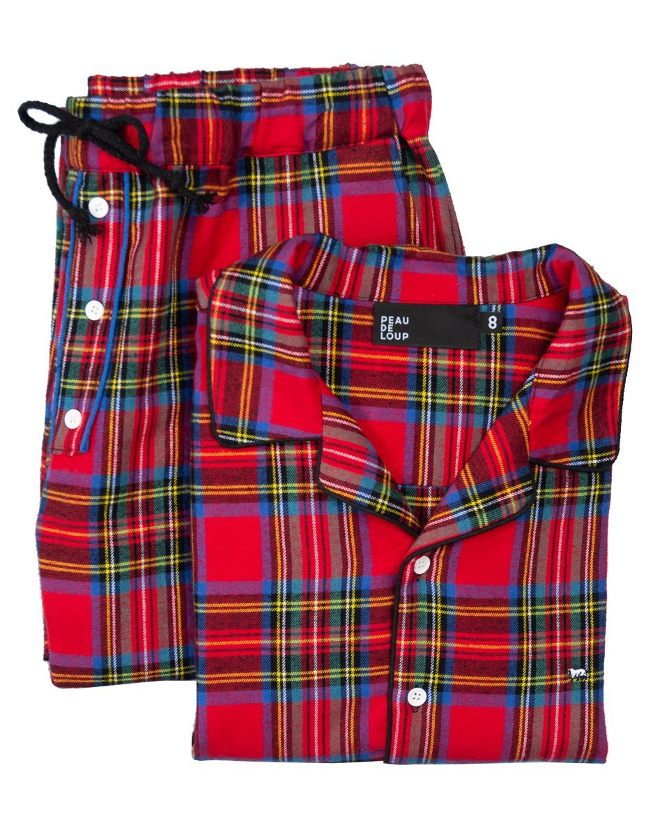 Perseus Flannel PJ Set