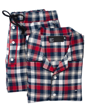 Lyra Flannel PJ Top