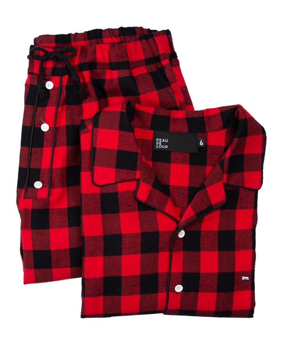 Orion Flannel PJ Set