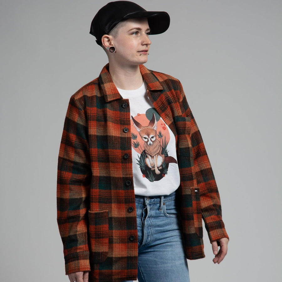 Car Coat - Plaid