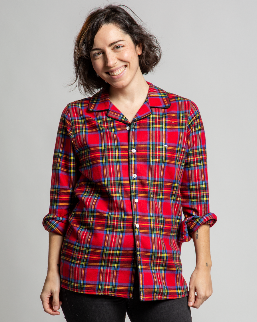 Perseus Flannel PJ Top