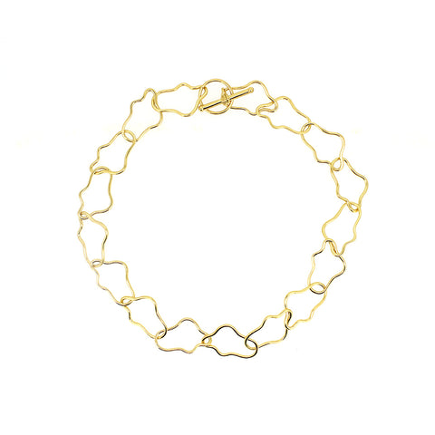 Gold Mini Torse Necklace