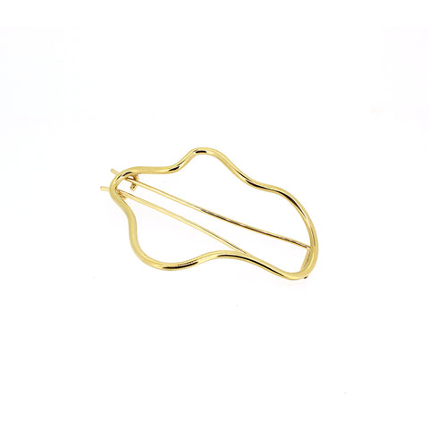 HR X The Undone Picasso Hoops Gold