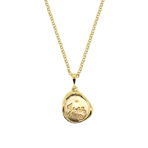 Gold Matisse Flora Wire necklace