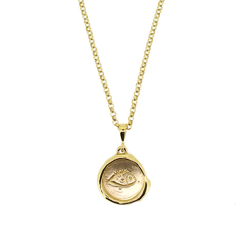 Gold Hepworth Necklace