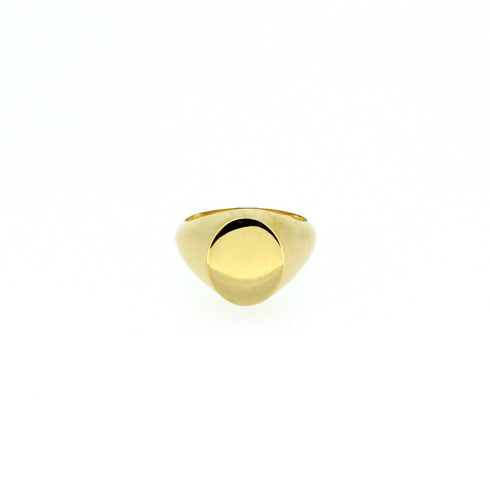 Gold Small Signet Ring