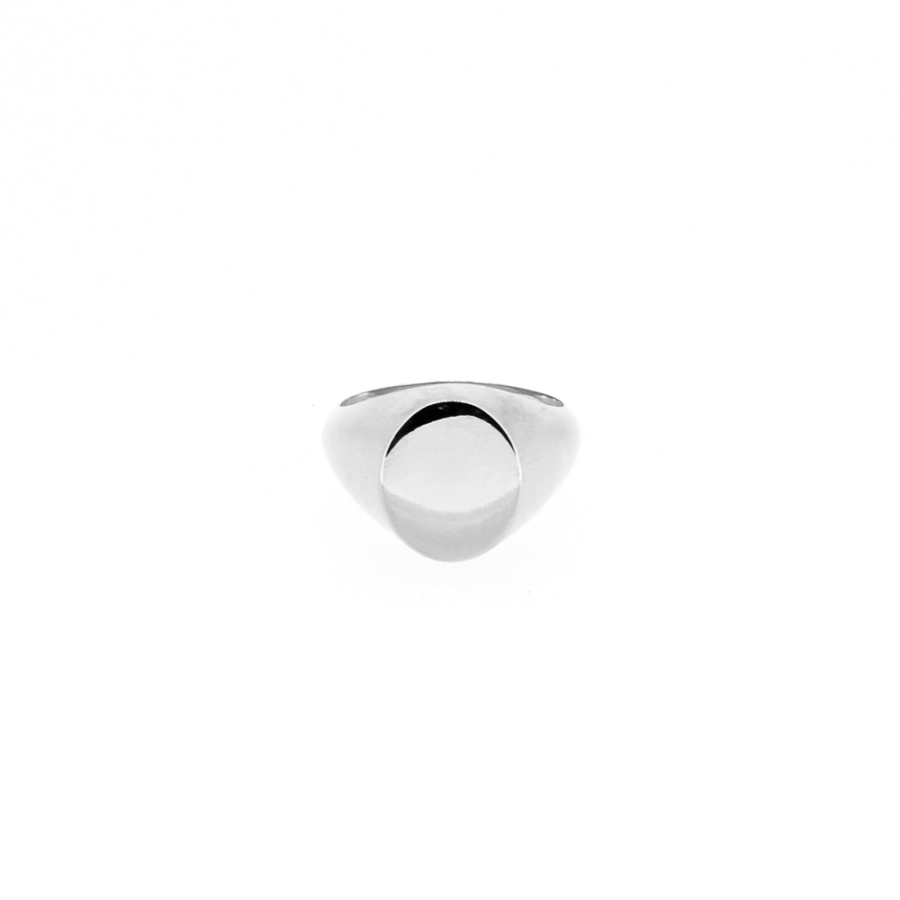 Silver Small Signet Ring