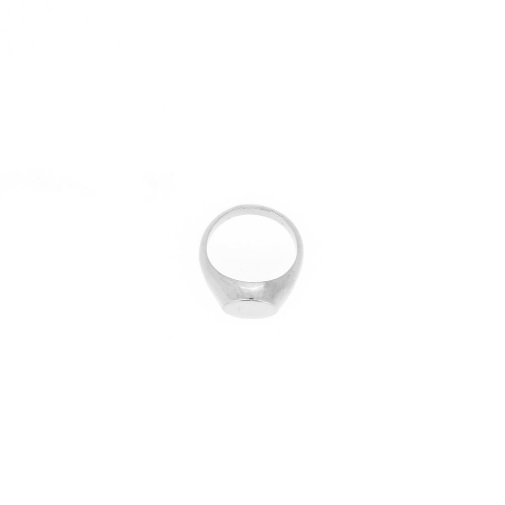Silver Pinky Signet Ring