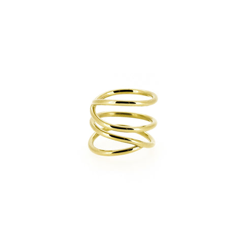 Gold Layered Loop Ring