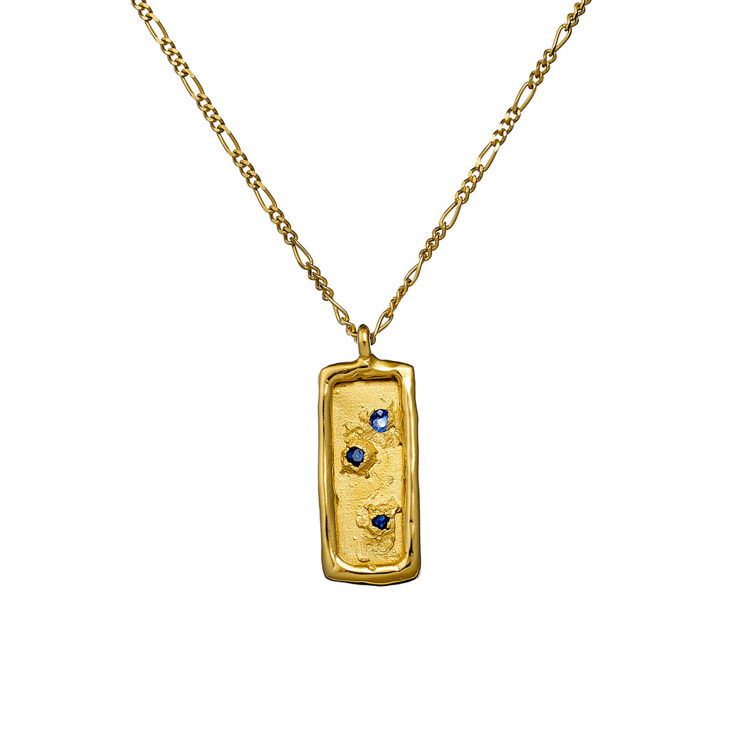 Hidden Treasure Map Necklace – Gold