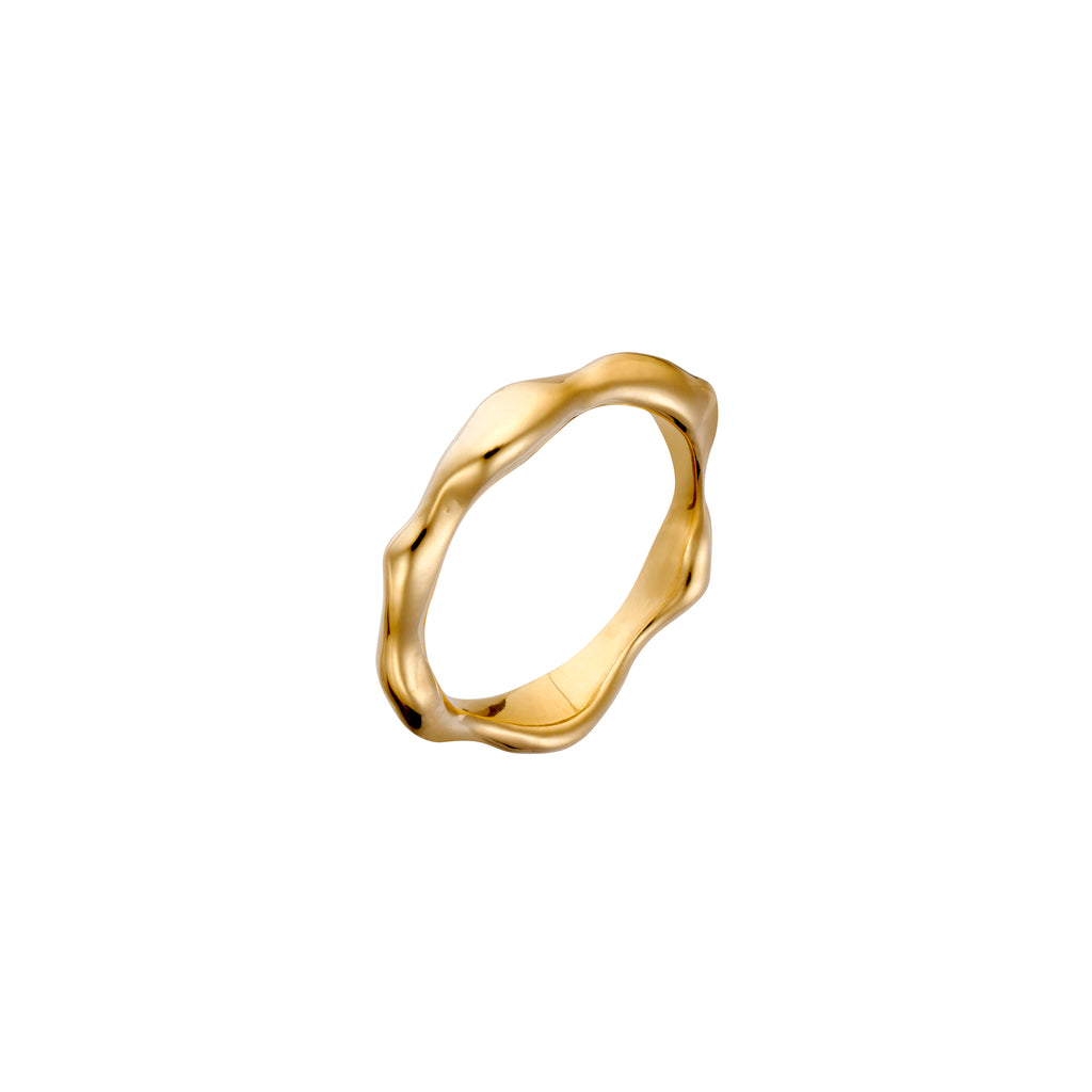 Gold Wabi-Sabi Thick Ring