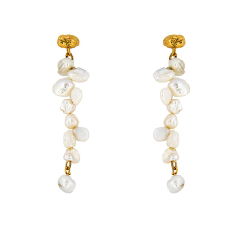 Gold Muriel Earrings