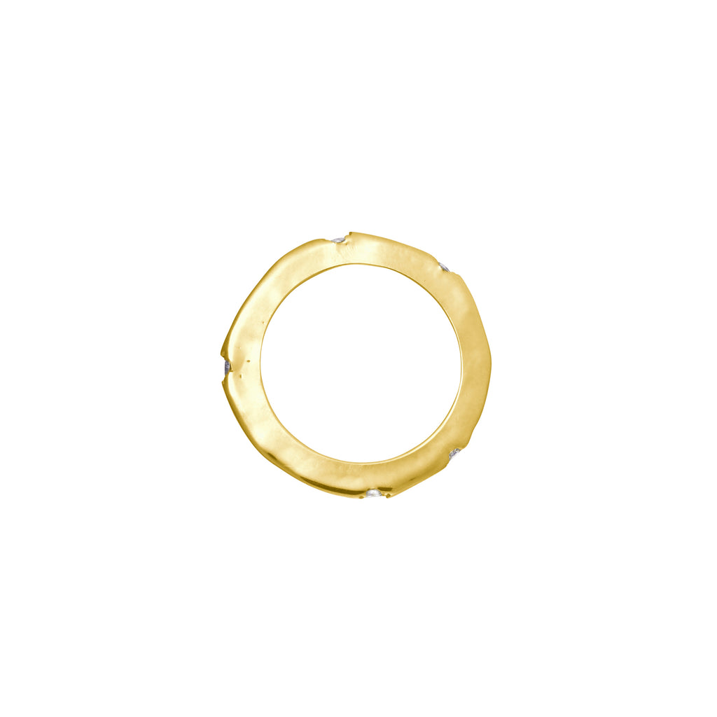 Gold Wabi-Sabi Ring (Fine)