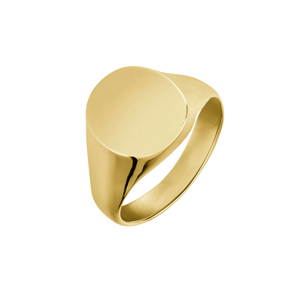 9ct Gold Men's Signet Ring