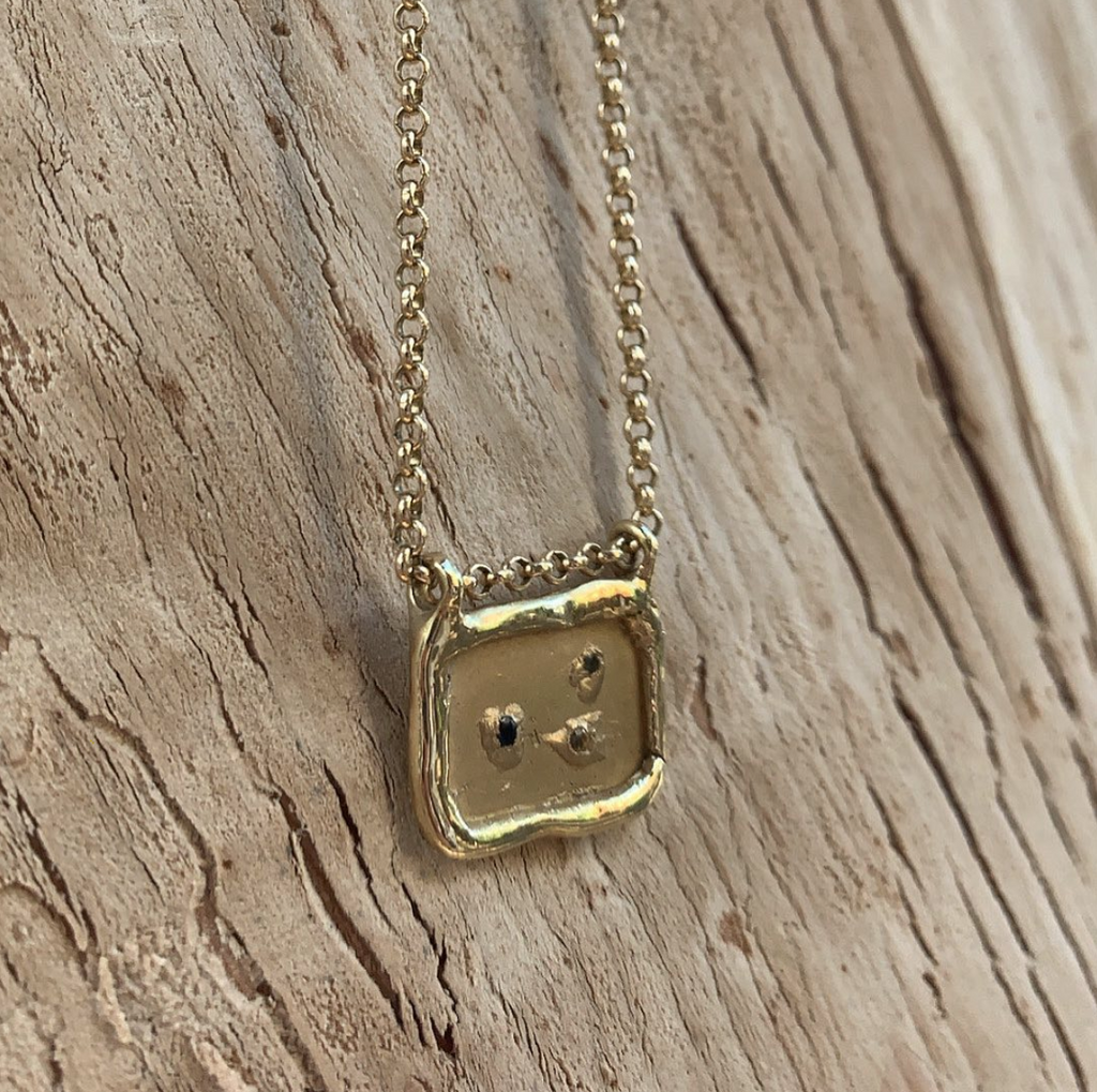 Hidden Treasure Chest Necklace – Gold