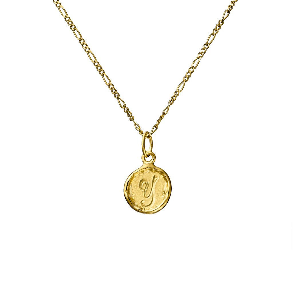 Your Initial - A-Z & - Solid 9ct yellow Gold