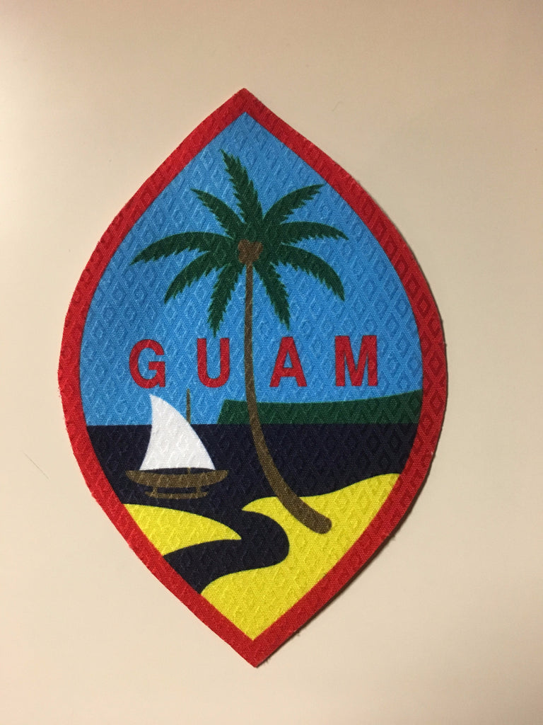 12 Guam Seal Patch: 4 Inch