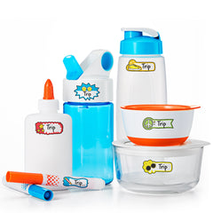 Color Me Organized Wash Safe Labels Fashion Set-Lulalu