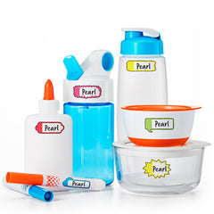 Color Me Organized Wash Safe Labels Tags Set-Lulalu