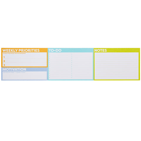 Color Me Organized Keyboard Planner Weekly Priorities & To-Do-Lulalu