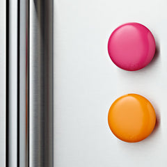 Lulalu Fridge Clip 2 Pack Set Pink Gelato & Orange-Lulalu