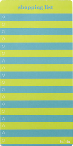 Lulalu Shopping List Pad Cool Stripes-Lulalu