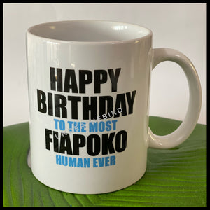 Mug - Happy Birthday Fiapoko